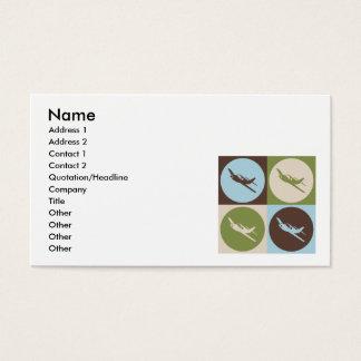 Pop Art Radio Control Business Card