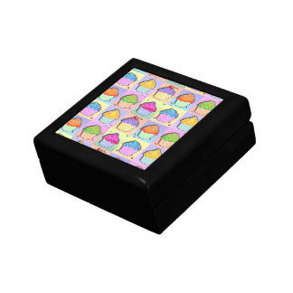 Pop Art Rainbow Cupcakes Gift Box