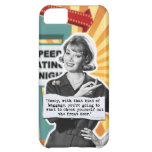 Pop Art Retro Woman Baggage Cover For iPhone 5C