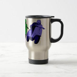 Pop Art RGB Scooter racer Mug