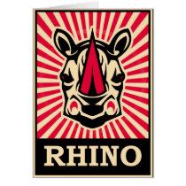Pop Art Rhinoceros