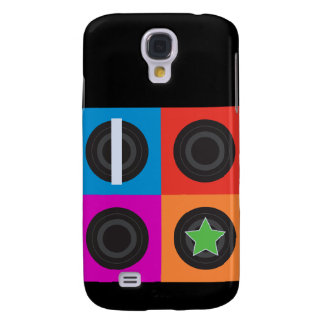 Pop Art Roller Derby Symbols Galaxy S4 Case