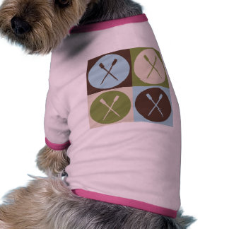 Pop Art Rowing Dog Clothes