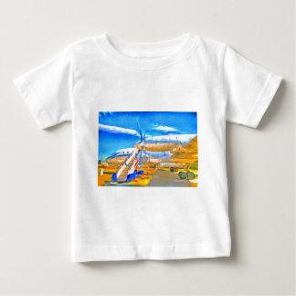 Pop Art Russian Airliner Baby T-Shirt