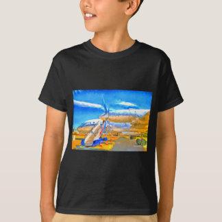 Pop Art Russian Airliner T-Shirt
