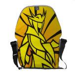Pop Art Samurai Shoulder Bag Courier Bag