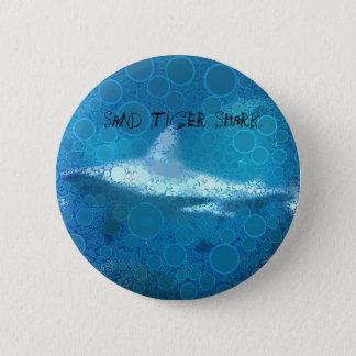 Pop Art Sand Tiger Shark Button