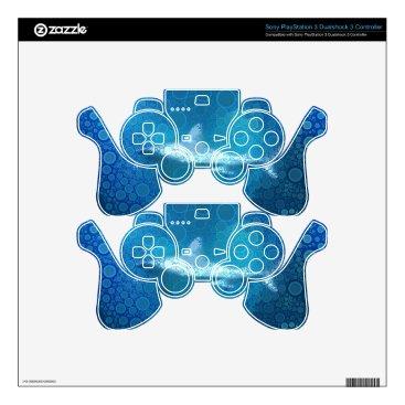 Beach Themed Pop Art Sand Tiger Shark PS3 Controller Decals