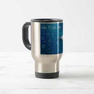 Pop Art Sand Tiger Shark Travel Mug
