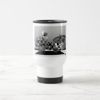 Pop art sci-fi mug with zebra