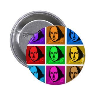 Pop Art Shakespeare Pins