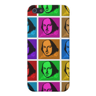 Pop Art Shakespeare Cover For iPhone SE/5/5s