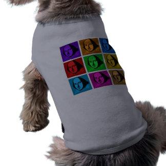 Pop Art Shakespeare Pet T Shirt