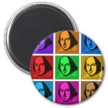 Pop Art Shakespeare Magnet