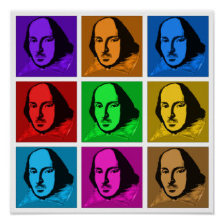 Pop Art Shakespeare Posters