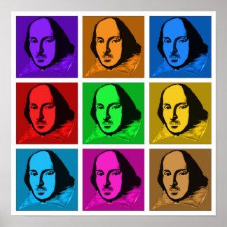 Pop Art Shakespeare Posters