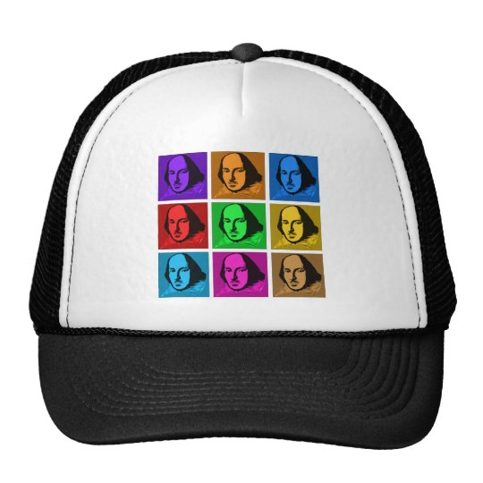 Pop Art Shakespeare Trucker Hat