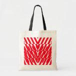 Pop Art Shatter Red Bag