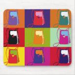 Pop Art Shoulder Purse Mousepads