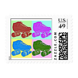 Pop Art Skate Stamp