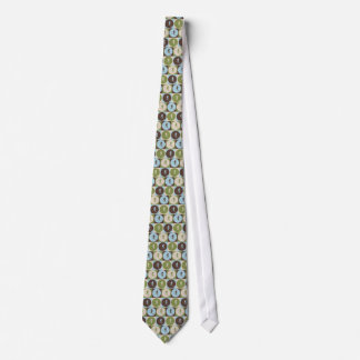 Pop Art Skiing Neck Tie