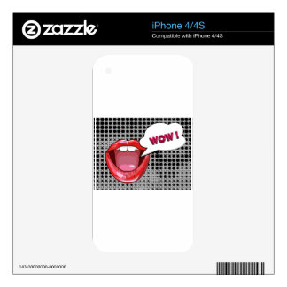 Pop Art Skins For iPhone 4S