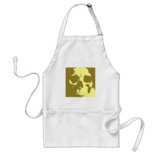 Pop Art Skull Adult Apron