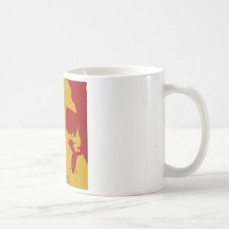 Pop Art Skull Coffee Mug