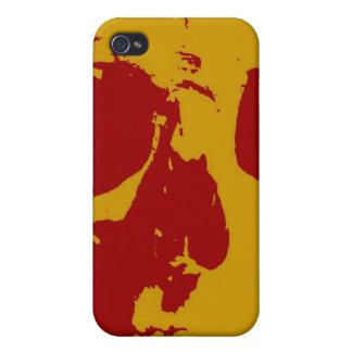 Pop Art Skull iPhone 4/4S Case