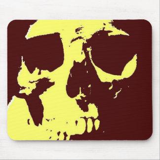Pop Art Skull Mouse Pad