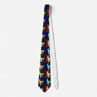 Pop Art Skull Neck Ties