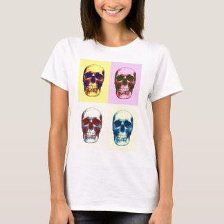 Pop Art Skull T-Shirt