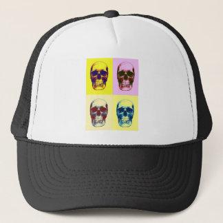 Pop Art Skull Trucker Hat