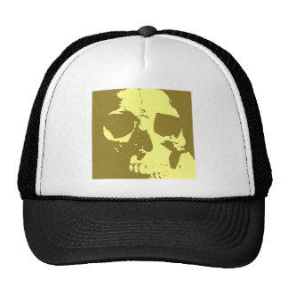 Pop Art Skull Trucker Hat