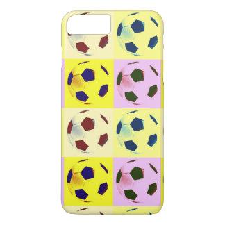 Pop Art Soccer Balls iPhone 8 Plus/7 Plus Case