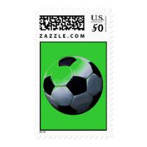 Pop Art Soccer - Football Postage