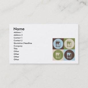 Social work business cards zazzle pop art social work business card colourmoves