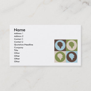 Speech therapy business cards templates zazzle pop art speech therapy business card colourmoves