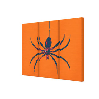 Pop Art Spider Canvas Print