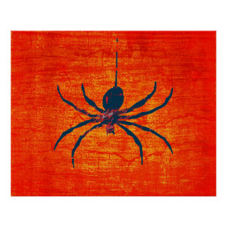 Pop Art Spider Poster