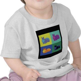 Pop Art Squirrel Infant Shirt