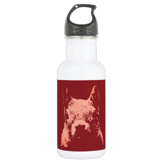 Pop Art Squirrel Stainless Steel Water Bottle