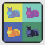 Pop Art Squirrel Sticker
