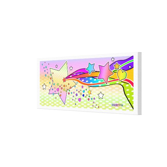 Pop Art STAR Gallery Wrapped Canvas