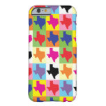 Pop Art State of Texas Barely There iPhone 6 Case