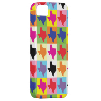 Pop Art State of Texas iPhone 5 Covers