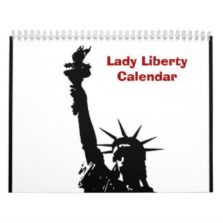 Pop Art Statue of Liberty 2017 Calendar