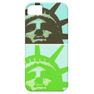 Pop Art Statue of Liberty Close Up iPhone 5 Case