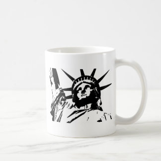 Pop Art Statue of Liberty Coffee Mug