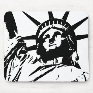 Pop Art Statue of Liberty Mouse Pad
